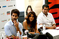 Press conference of Indian Film Festival Melbourne 2012, Shahid Kapoor, Priyanka Chopra 02.jpg