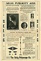 Press sheet for THE NE'ER TO RETURN ROAD, 1913 (Page 2).jpg