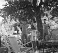 Prime Minister Jawaharlal Nehru in conversation with Edwina Mountbatten in the lawns of Vicerigal Lodge, Simla.jpg