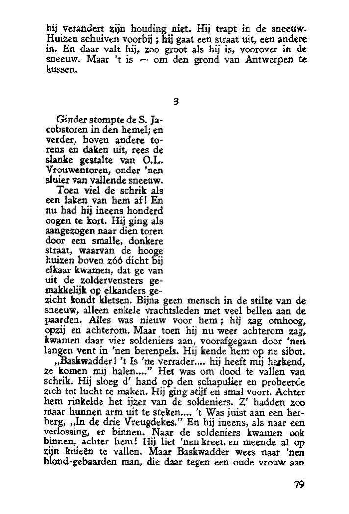 Paginaprint Pieter Breughel Zoo Heb Ik U Uit Uwe Werken