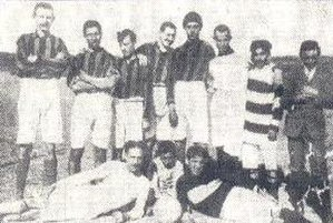 Calcio Catania - Earliest club photograph; as Pro Patria in 1908.