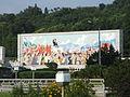 Propaganda mosaic in Pyongyang 02.JPG