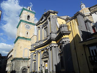 Santissima Annunziata Maggiore, Naples church