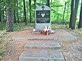 Prymusowa Wola, January Uprising monument and tomb.jpg