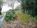 Public bridleway to Cathole Lane - geograph.org.uk - 1065424.jpg