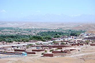 Logar Province - Puli Alam, the capital of Logar province.