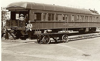 National Register of Historic Places listings in Adams County, Washington - Image: Pullman car D&RG 101