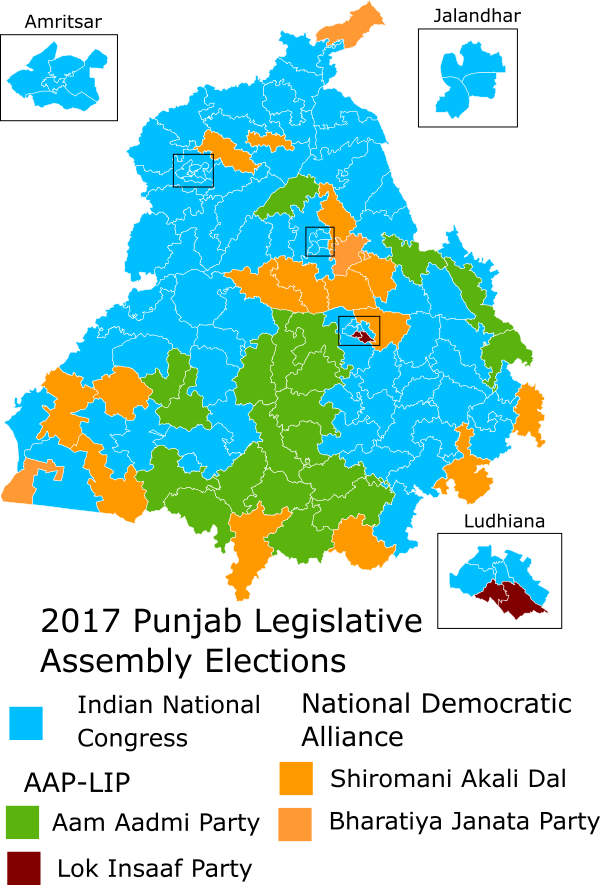 2017 Punjab Legislative Assembly election - Wikipedia