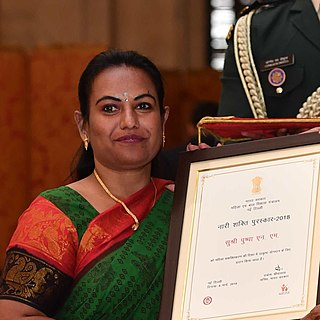 Pushpa Preeya Indian scribe, IT professional and volunteer