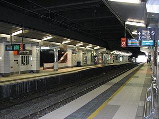 Fortitude Valley railway station railway station in Brisbane, Queensland, Australia