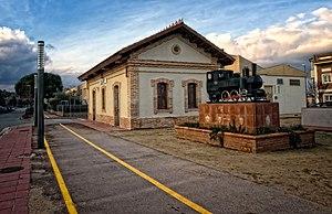 Quart, Girona - Train station, Quart