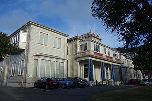 Queen Margaret College, Wellington - The Queen Margaret College Tower Building