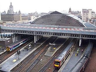 Glasgow–Edinburgh via Falkirk line - Glasgow Queen Street
