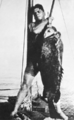 Queensland State Archives 1026 Groper fish caught in Capricorn Group Great Barrier Reef c 1931.png