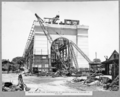 Queensland State Archives 3602 South anchor pier construction of concrete roadway trestles on pier cap Brisbane 22 November 1937.png