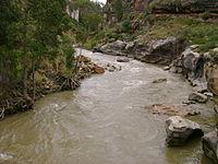 Río Lauricocha en época de avenida 03118.jpg