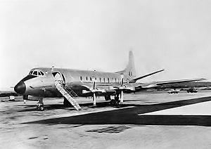 No. 34 Squadron RAAF - Image: RAAF Vickers Viscount (AWM 128878)