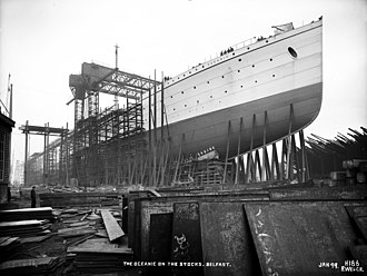 RMS Oceanic (1899) - Image: RMS Oceanic Harland and Wolff