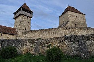 Câlnic Citadel - Image: RO AB Calnic fort 27
