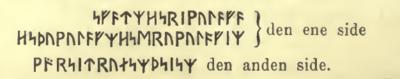 Fig. 4. Indskriften på Istaby-stenen fra Bleking.