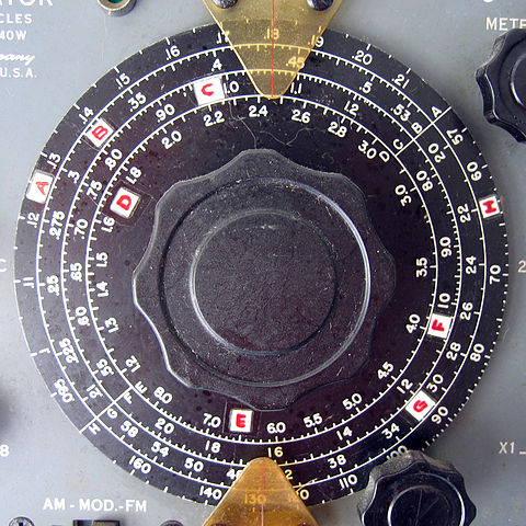 Radio dial, image by John McComb of Oakland, CA.