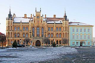 Nový Bydžov Town in Hradec Králové, Czech Republic