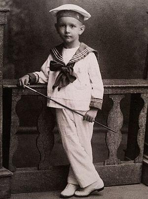 Rafael Caldera - Caldera at the age of three