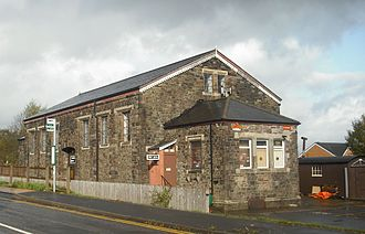 Griffithstown Railway Museum - The goods shed building