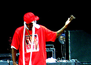 Rock the Bells - Rakim performing at Merriweather Post Pavilion in Maryland on July 27.