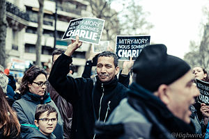 Rally in support of the victims of the 2015 Charlie Hebdo shootin, Paris , 11 January 2015 (11).jpg