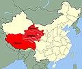 Range of Canis lupus filchneri in China.jpg