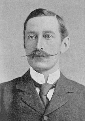 Sidney Herbert, 14th Earl of Pembroke - Lord Pembroke in the late 1890s.