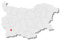 Razlog location in Bulgaria.png
