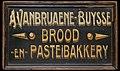 Reclamebord- Vanbruane Buysse, Onbekend, Bakkerijmuseum Veurne, Reclamebord, 5673.jpg