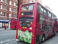 Red bus gone green - Vauxhall Bridge Road, Victoria, London (8103706790).jpg