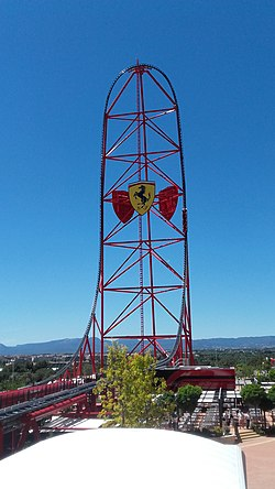 Red Force (roller coaster) - Wikipedia