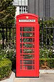 Red telephone box, St Paul's Cathedral, London, England, GB, IMG 5180 edit.jpg