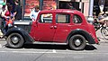Red vintage car In Dun Laoghaire.jpg