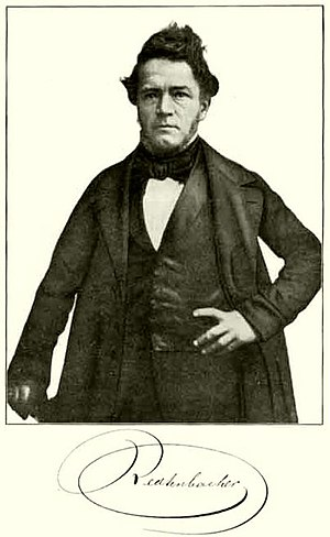 Ferdinand Redtenbacher - Portrait