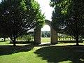 Reichswald Forest War Cemetery archway.jpg