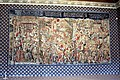 Reims, Palais du Tau, tapestry of the coronation of Chlodwig.JPG
