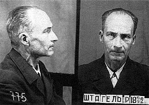 Reiner Stahel - Reiner Stahel after arrest by NKVD 1944