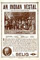 Release flier for AN INDIAL VESTAL, 1911.jpg