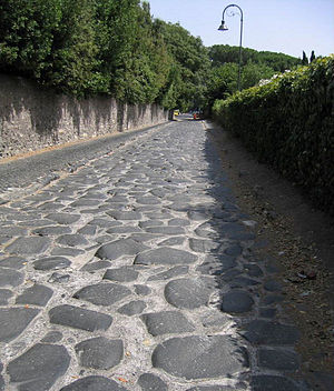 Appian Way - Near Rome