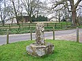 Remains of preaching cross, Hammoon - geograph.org.uk - 704033.jpg
