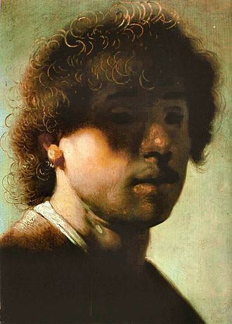 Gemäldegalerie Alte Meister (Kassel) - Image: Rembrandt self portrait 1628