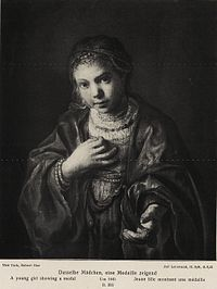 Rembrandt - Girl Holding a Medaillon.jpg