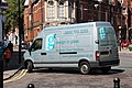 Renault truck in front of Finsbury Town Hall - Borough of Islington - London - August 11th 2014.jpg