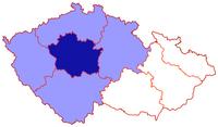 Poloha pražské arcidiecéze v rámci české církevní provincie