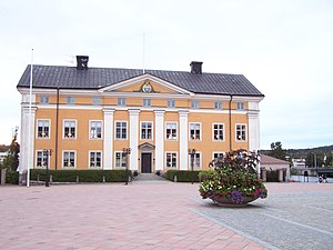 Härnösand - The Governor's residence in Härnösand